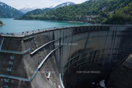 初夏の黒部ダムの素材 [FYI00480986]