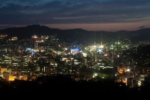 長崎の夜景の写真素材 [FYI00481009]