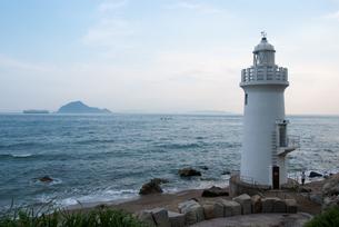 伊良子岬の灯台の写真素材 [FYI00481016]