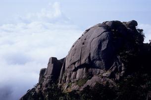 屋久島・ドクロのような岩峰の写真素材 [FYI00481098]