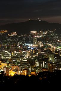 長崎の夜景の写真素材 [FYI00481156]
