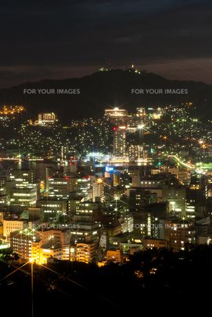 長崎の夜景の素材 [FYI00481157]