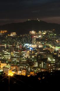 長崎の夜景の写真素材 [FYI00481157]