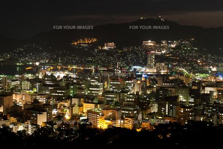 長崎の夜景の素材 [FYI00481159]