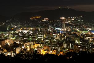 長崎の夜景の写真素材 [FYI00481159]