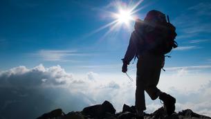 登山者の写真素材 [FYI00481182]