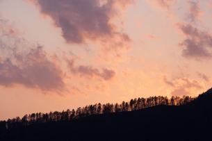 北海道・積丹町の夕焼けの素材 [FYI00481292]