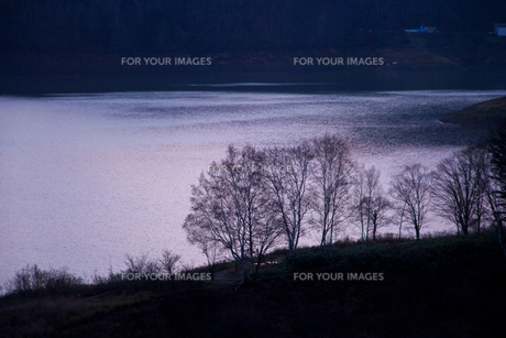 北海道・静かなる湖の素材 [FYI00481295]