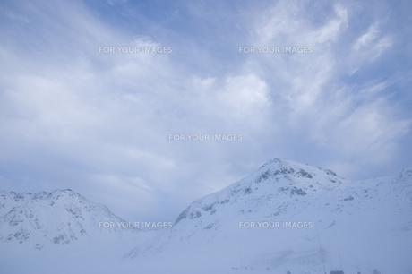 初冬の立山連峰の素材 [FYI00481311]