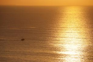 小田原市国府津海岸の朝の海の写真素材 [FYI00481342]