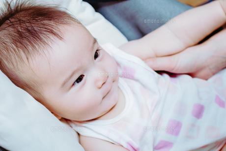 おだやかな赤ちゃんの素材 [FYI00481492]