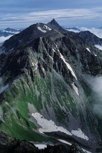 重厚なる槍ヶ岳 - Mt.Yarigatake The A profoundの写真素材 [FYI00481877]