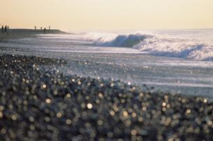 砂浜のきらめきの写真素材 [FYI00481907]