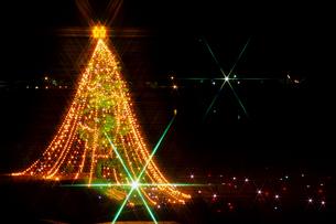 宮ヶ瀬のジャンボクリスマスツリーの写真素材 [FYI00481915]