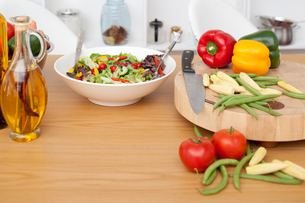 Fresh saladの写真素材 [FYI00482436]