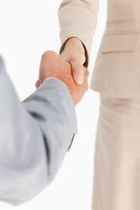 Business people are shaking handsの写真素材 [FYI00484985]