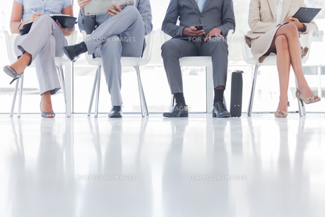 Group of business people waitingの写真素材 [FYI00485391]