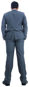 Businessman standingの写真素材 [FYI00485785]