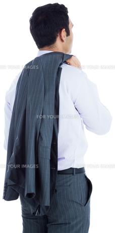 Businessman standingの写真素材 [FYI00485791]