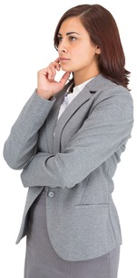 Serious businesswomanの素材 [FYI00485937]