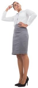 Focused businesswomanの素材 [FYI00485941]