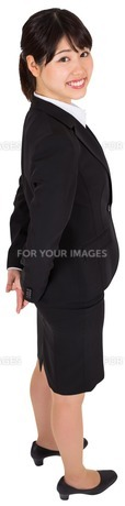 Smiling businesswomanの写真素材 [FYI00485960]