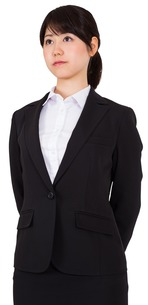 Serious businesswomanの素材 [FYI00485978]