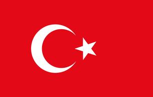 Turkey flagの素材 [FYI00486564]