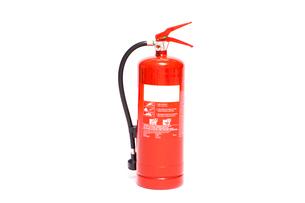 Red foam extinguisherの写真素材 [FYI00486594]