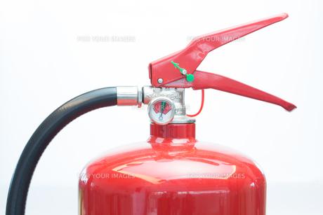 Top of fire extinguisherの写真素材 [FYI00486598]