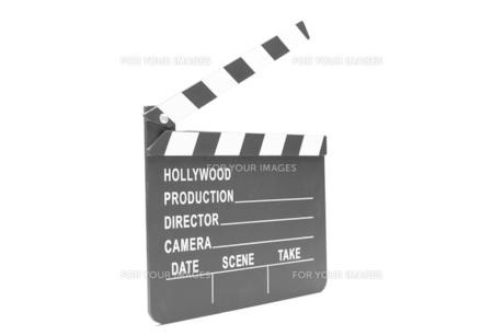 Film clapper boardの写真素材 [FYI00486600]