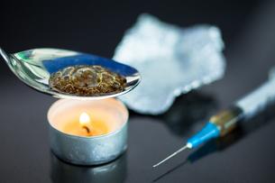 Cooking heroinの写真素材 [FYI00486603]
