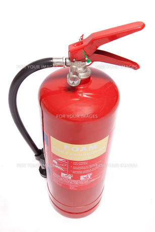 Foam extinguisherの写真素材 [FYI00486608]