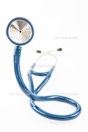 Blue stethoscopeの写真素材 [FYI00486643]
