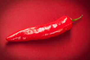 Red long chili pepperの素材 [FYI00486644]
