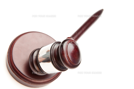 Brown wooden gavelの写真素材 [FYI00486662]