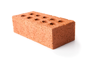 Red clay brickの写真素材 [FYI00486679]