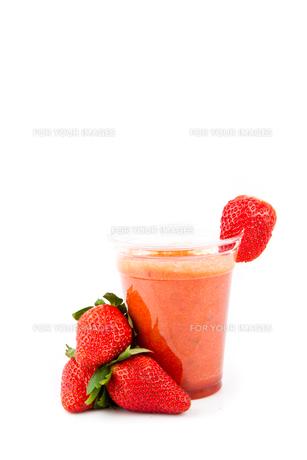 Strawberry juice drinkの素材 [FYI00486680]
