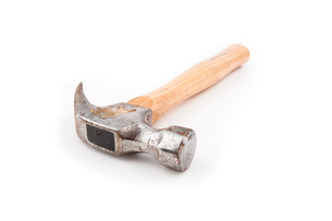 Hammer with wooden handleの素材 [FYI00486696]