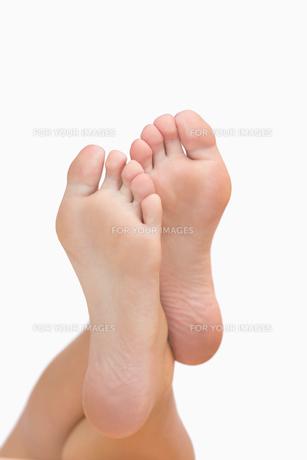 Womans feetの素材 [FYI00486748]
