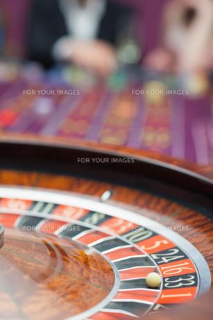 Roulette wheelの素材 [FYI00486785]