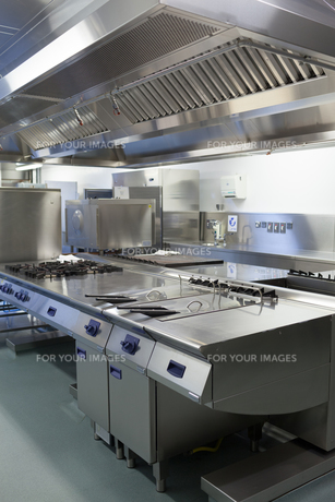 Picture of hotel kitchenの写真素材 [FYI00486799]