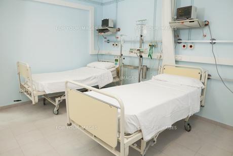Sterile bedroomの写真素材 [FYI00486840]