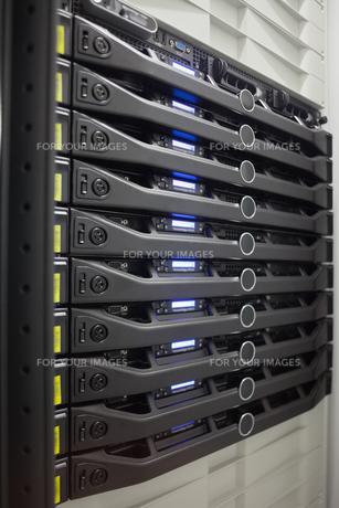 Rack of serversの素材 [FYI00486850]