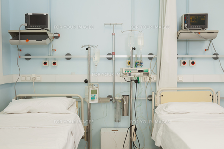 Sterile bedroomの写真素材 [FYI00486852]