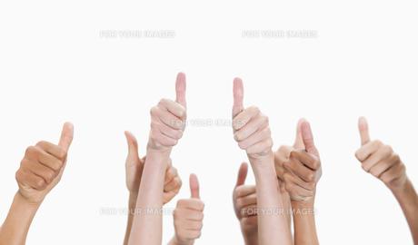 Thumbs-upの写真素材 [FYI00486885]