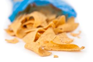 Open bag of crispsの素材 [FYI00486887]