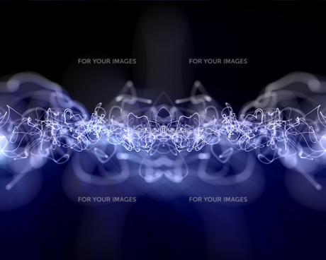 Multiples lightning linesの写真素材 [FYI00486890]