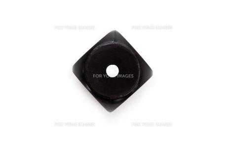 Black diceの写真素材 [FYI00486896]