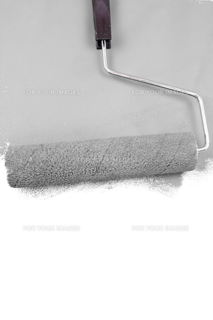 Painting with a grey colorの素材 [FYI00486943]